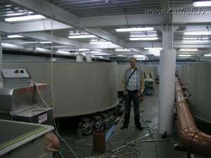 Рыбоводная установка замкнутого водоснабжения для выращивания осетров