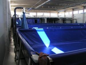 Монтаж оборудования большой рыбной фермы УЗВ