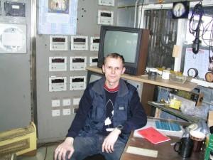 Обычная операторная на рыбной ферме УЗВ в России